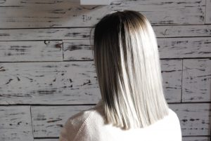 growing long hair