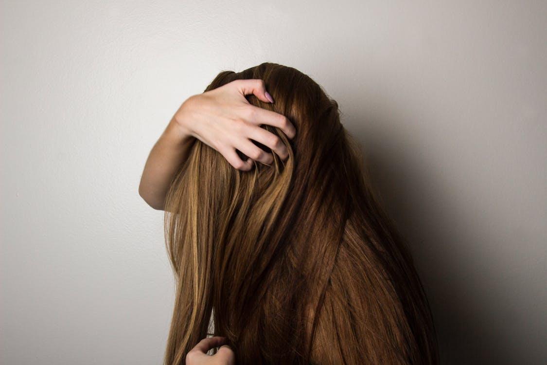 Healthy hair strands